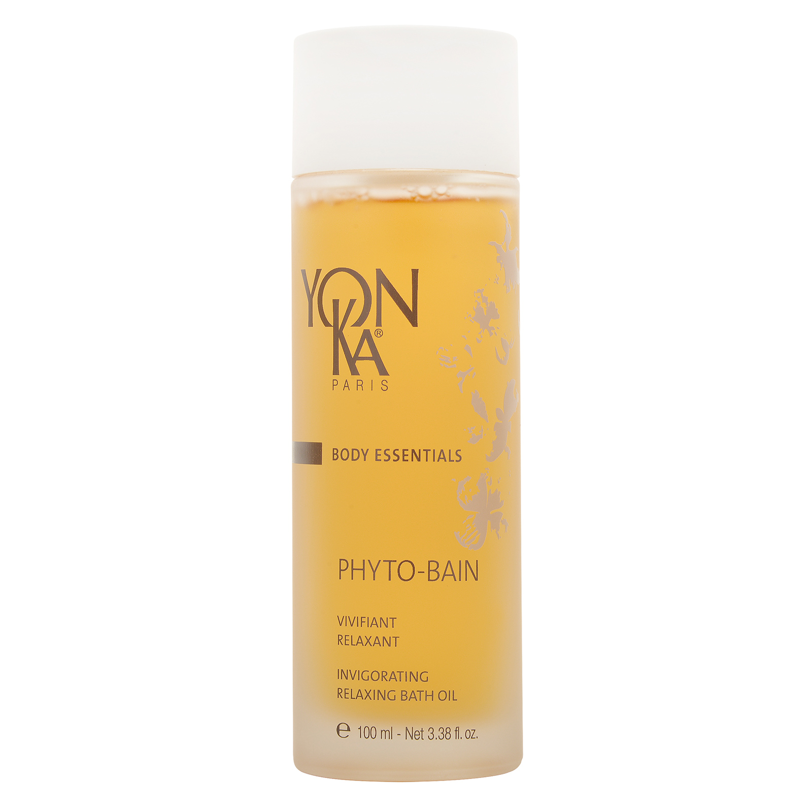 YON-KA Body Essentials Phyto- Bain Invigorating Relaxing Bath Oil  3.38oz, 100ml