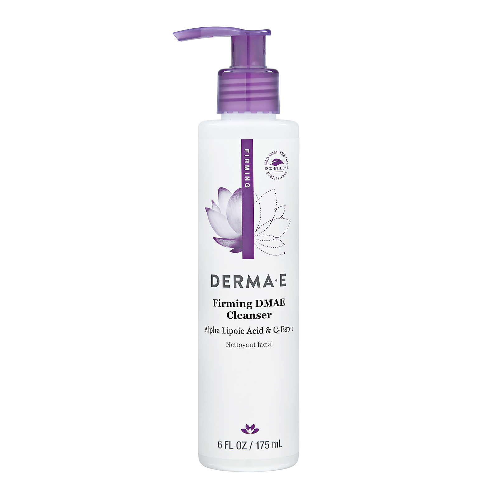 Derma e Firming DMAE Cleanser With Alpha Lipoic and C-Ester (For All Skin Types) 6oz, 175ml