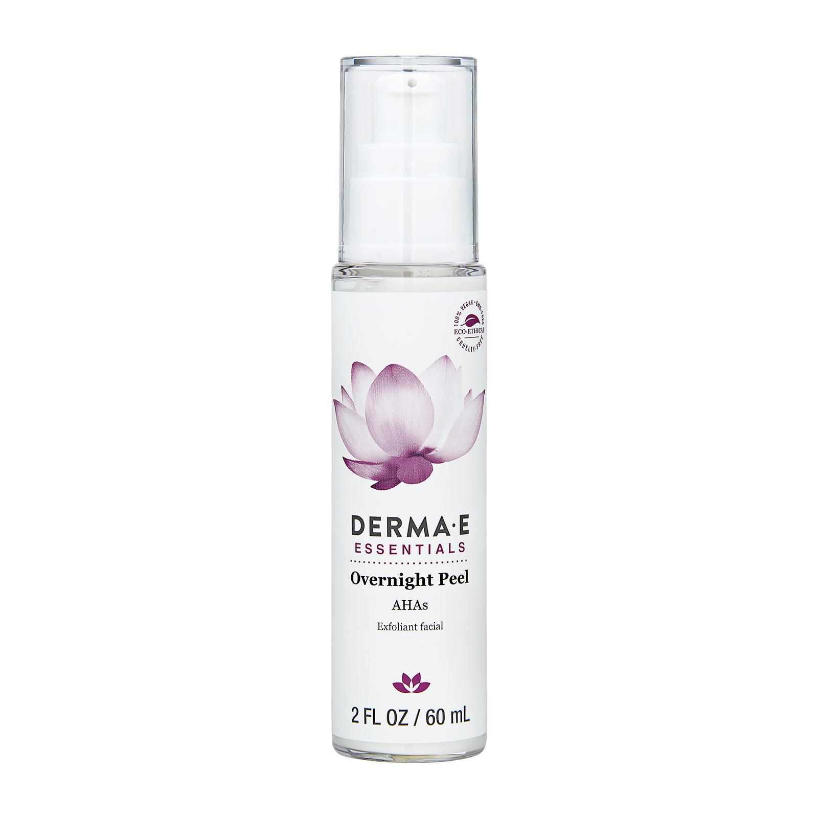 Derma e Evenly Radiant Overnight Peel (For All Skin Types) 2oz, 60ml