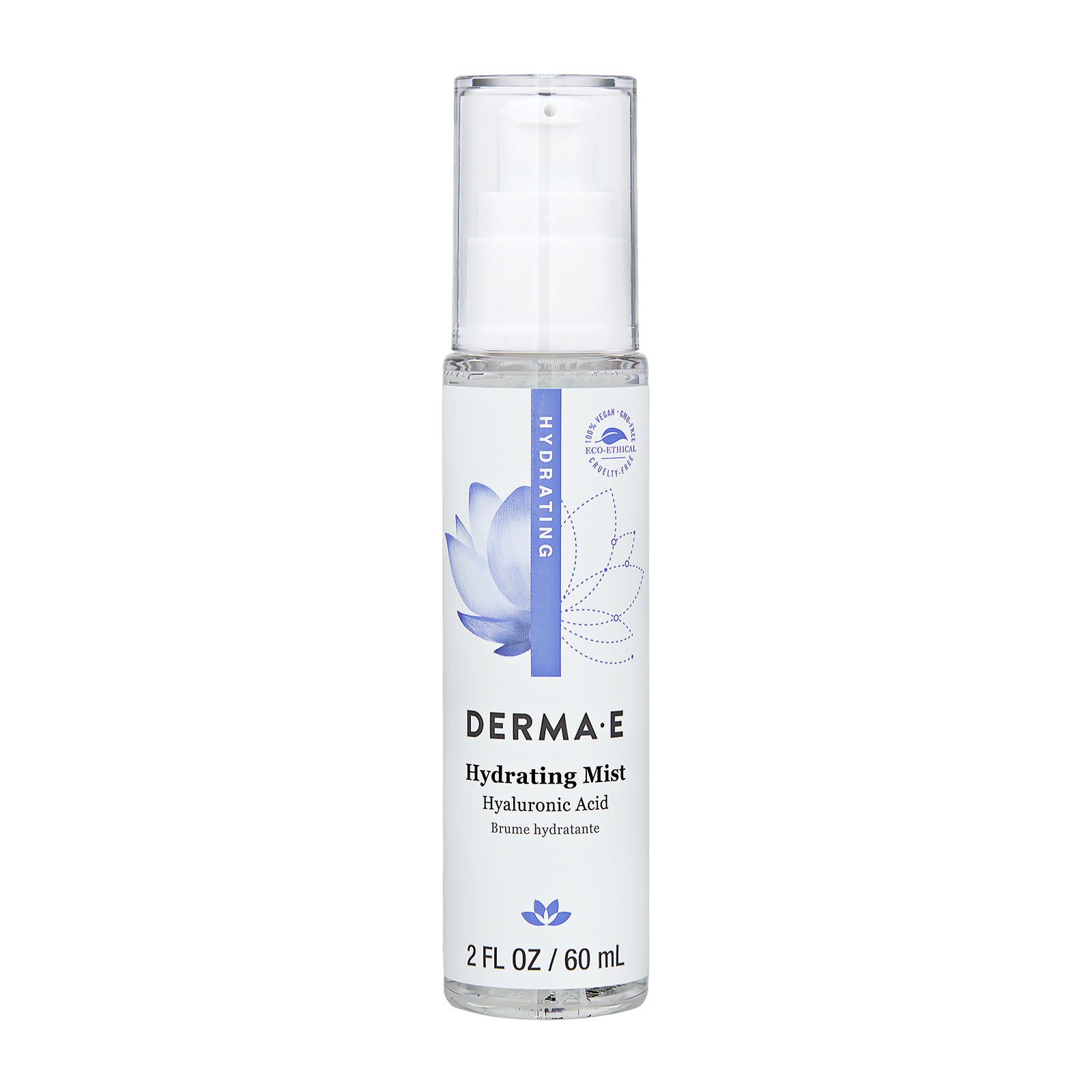 Hydrating Mist With Hyaluronic Acid (For Dry and Normal Skin) 2oz