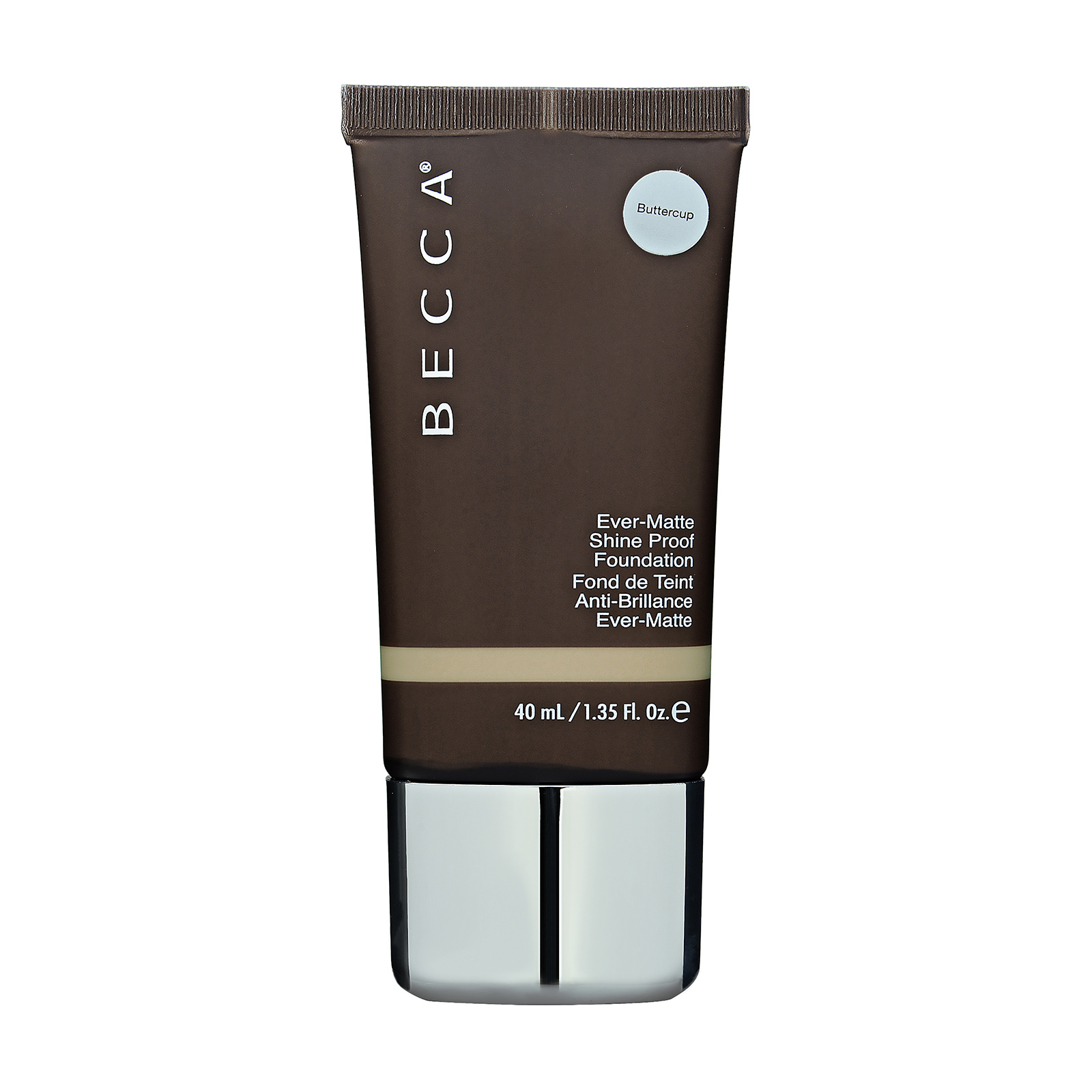Becca  Ever-Matte Shine Proof Foundation Buttercup, 1.35oz, 40ml