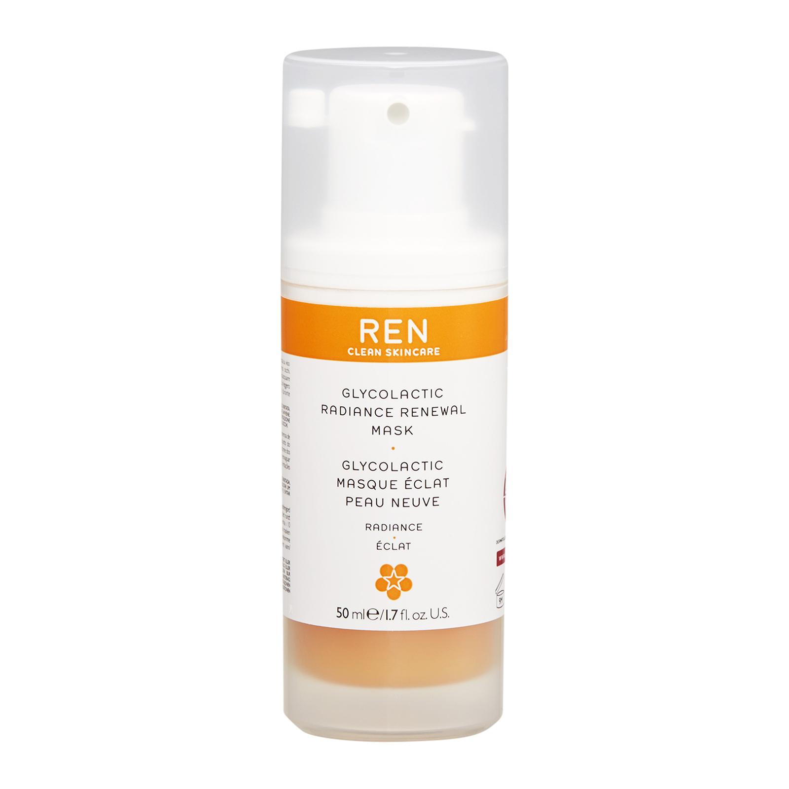 REN  Glycolactic Radiance Renewal Mask 1.7oz, 50ml