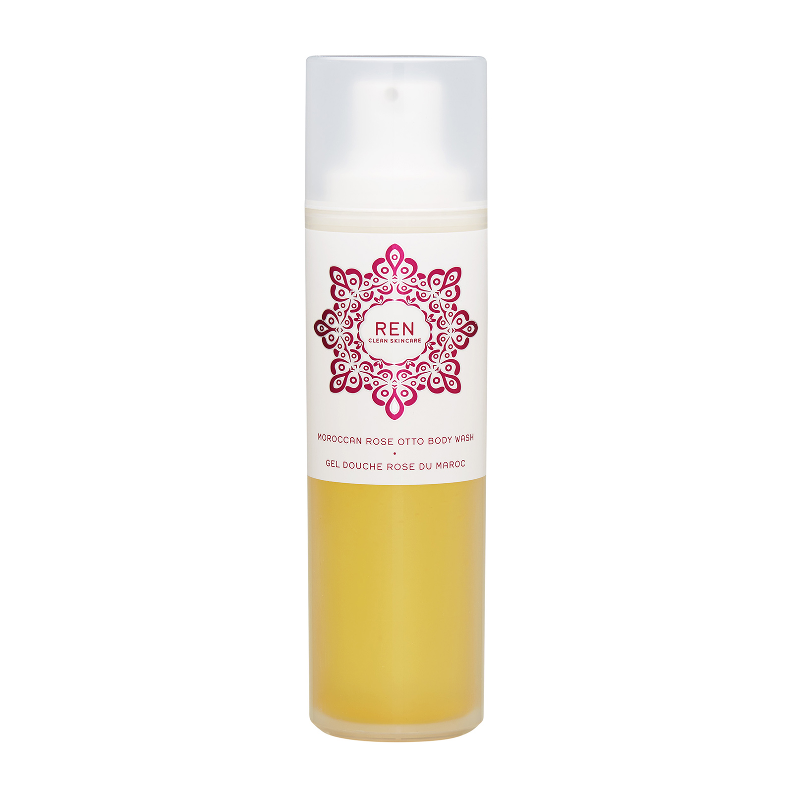 REN Moroccan Rose  Otto Body Wash (All Skin Types) 6.8oz, 200ml from Cosme-De.com