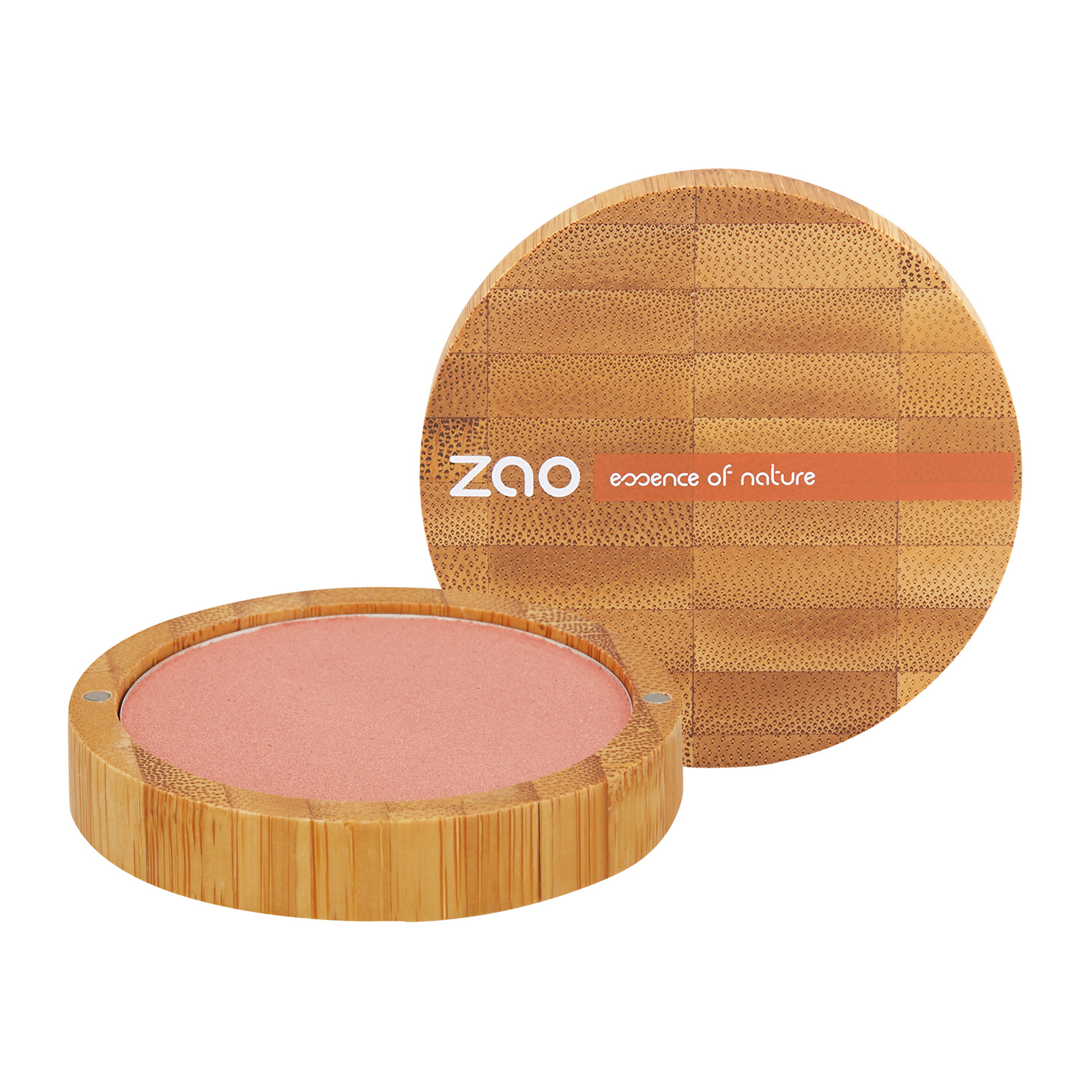 ZAO  Compact Blush 325 Golden coral, 0.32oz, 9g from Cosme-De.com