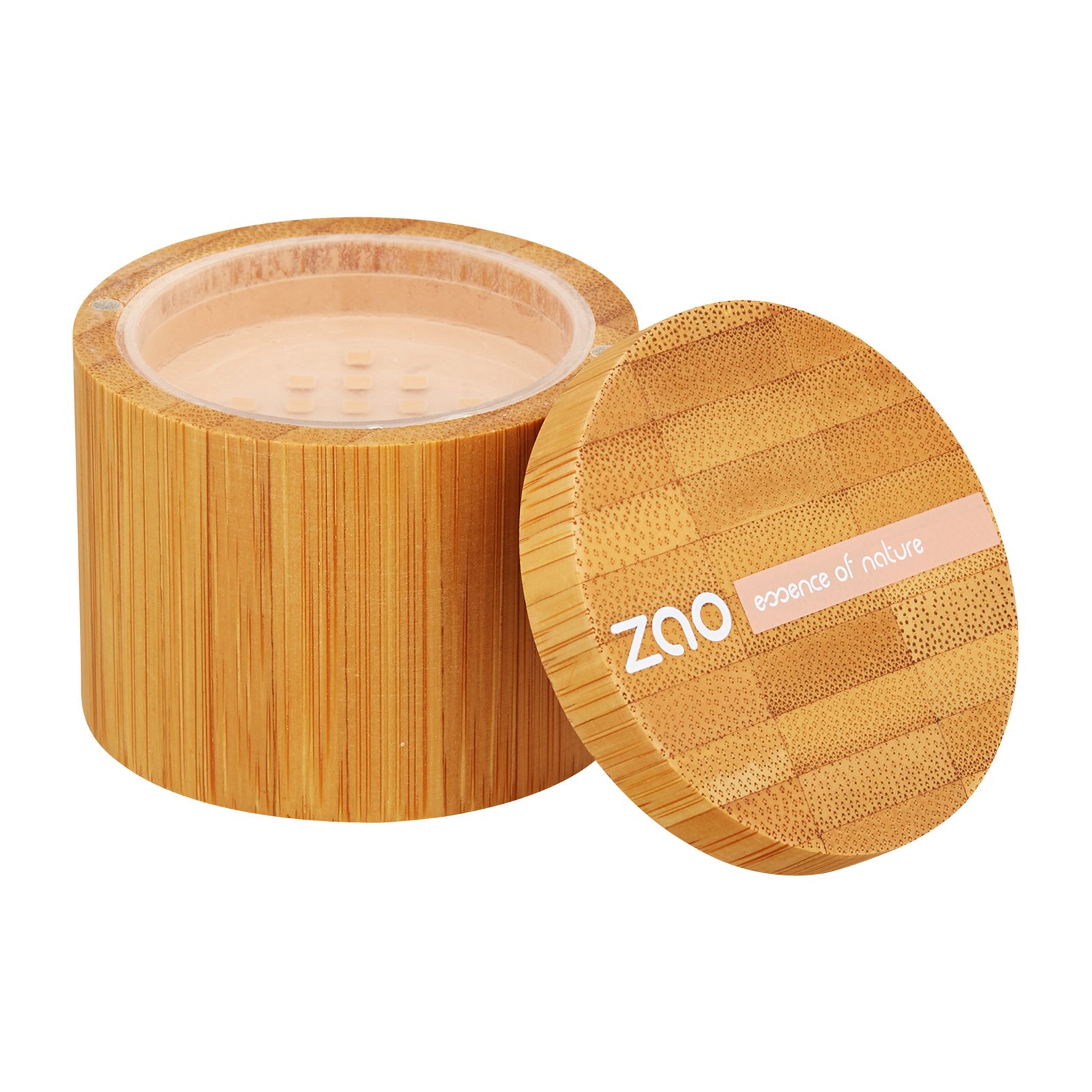 ZAO  Mineral Silk Mineral Powder Foundation 501 Clear Beige, 0.53oz, 15g from Cosme-De.com