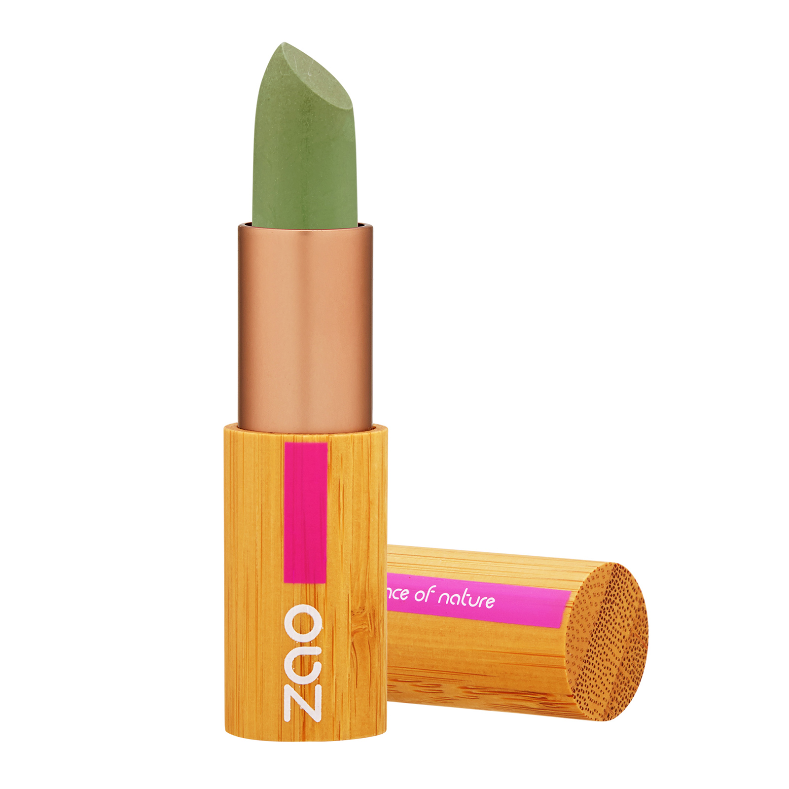 ZAO Concealer Stick 499 Green Anti Red Patches, 0.18oz, 3.5g